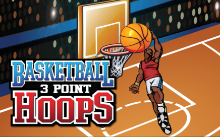 Basketball – 3 Point Hoops