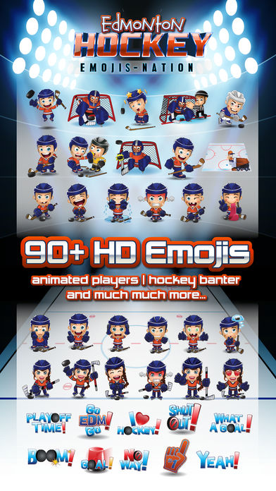 Edmonton Hockey Emojis-nation