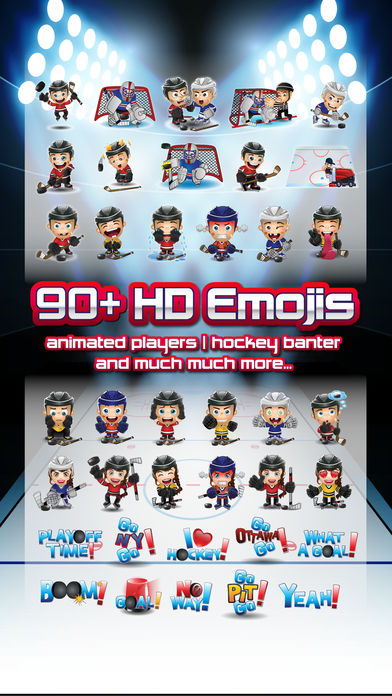 Hockey Emojis-nation