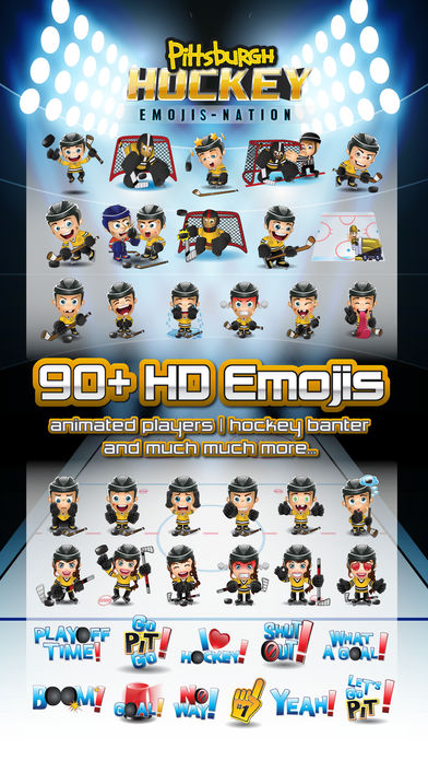 Pittsburgh Hockey Emojis-nation