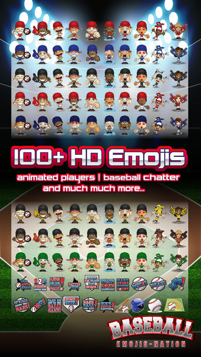Baseball Emojis-nation