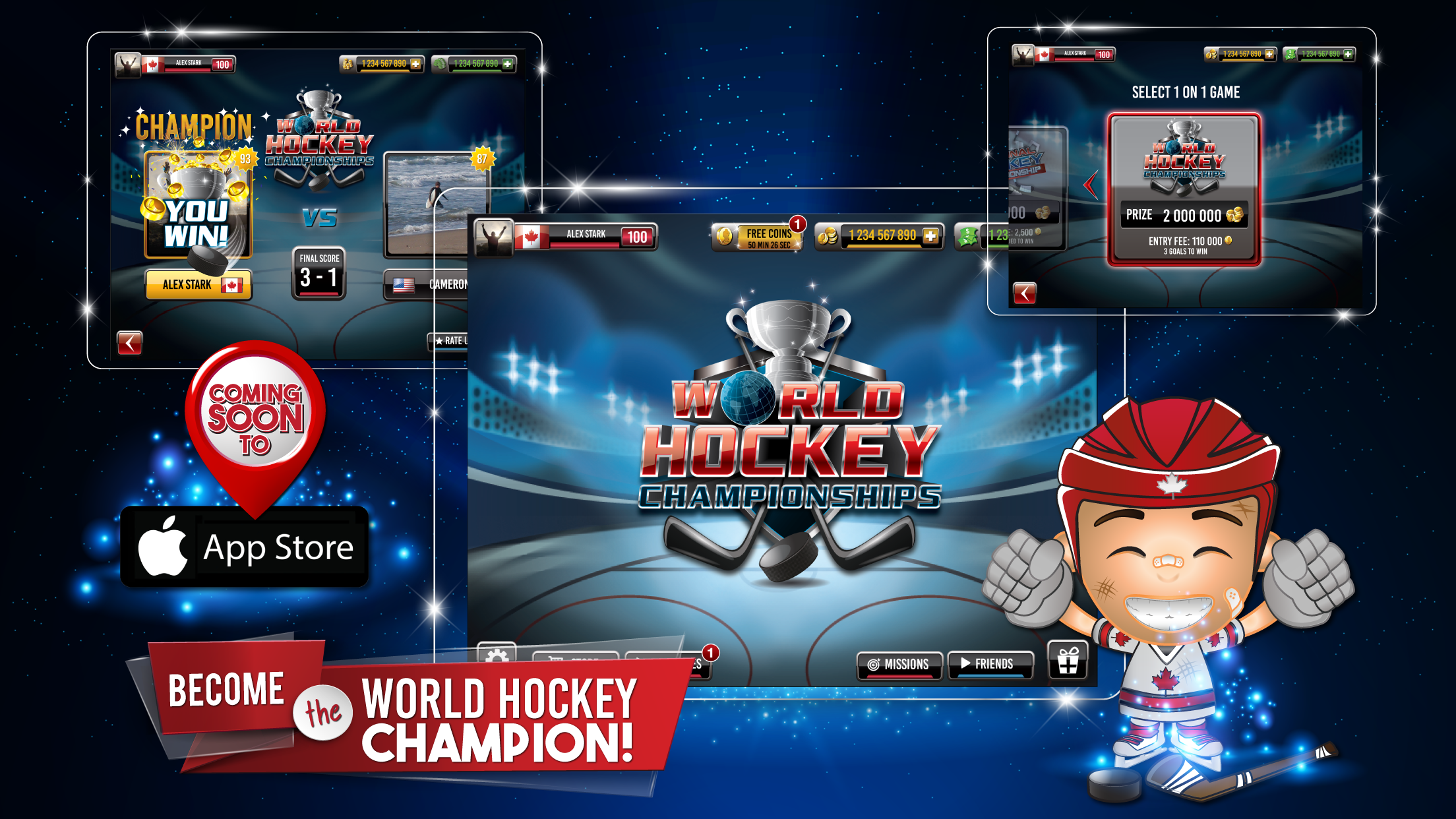 World Hockey Championships - Screenshot 1